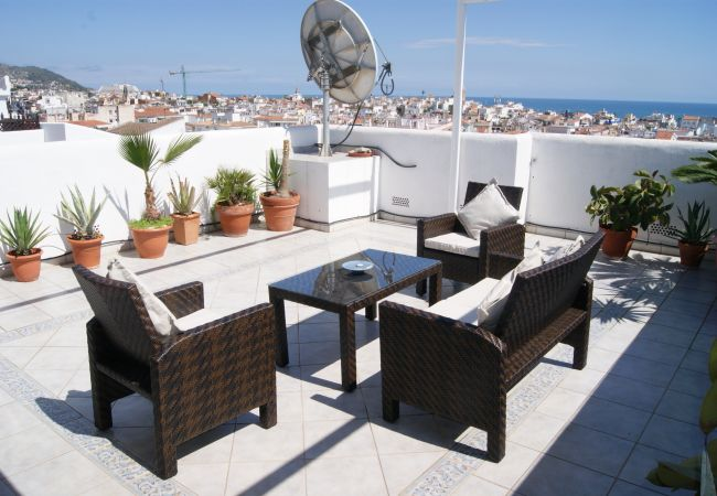 Apartamento en Sitges - BETTY large private roof terrace