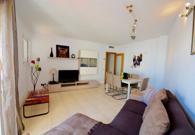 Apartamento en Sitges - SUNLIGHT - spacious 3 bedroom family apartment
