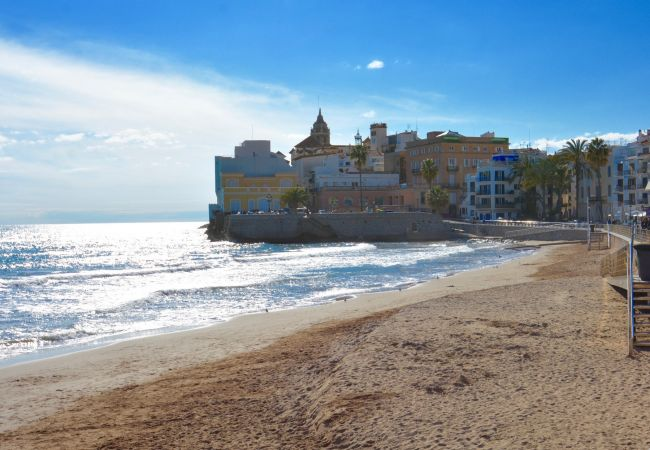 Apartamento en Sitges - MARGARITA lovely apartment close to the beach