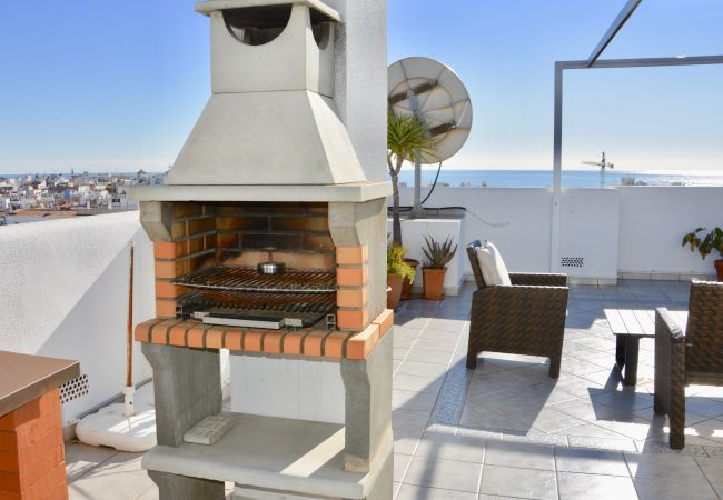 Apartment in Sitges - BETTY large private roof terrace