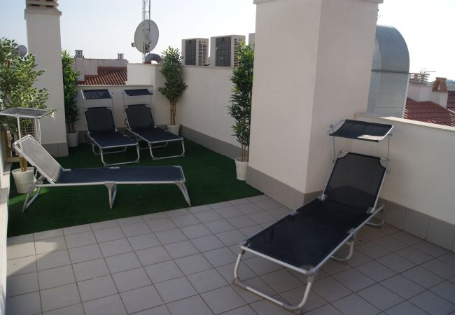 Apartment in Sitges - MIMOSA - lovely apartment with great roof terrace