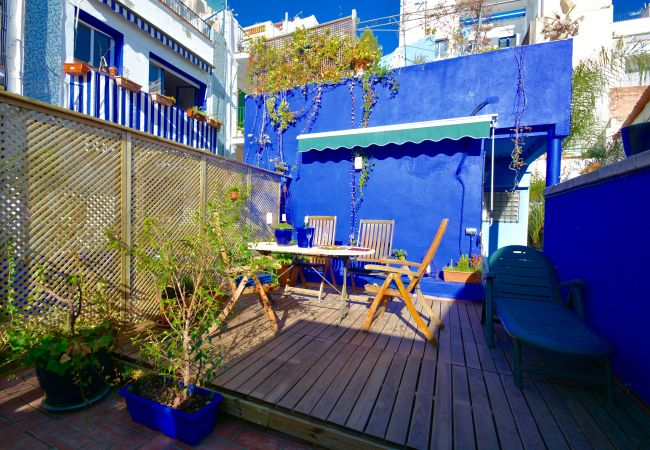Apartment in Sitges - THE LOFT - large apartment in the heart of Sitges with a fabulous roof terrace