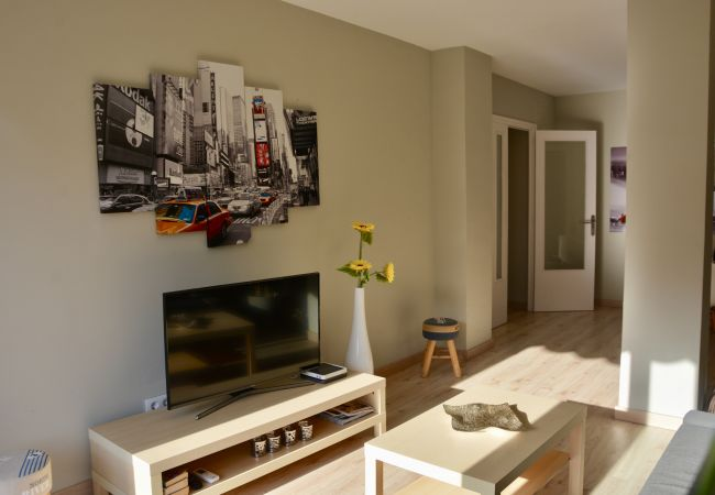 Apartment in Sitges - CENTRAL apartment in Sitges with large sunny terrace