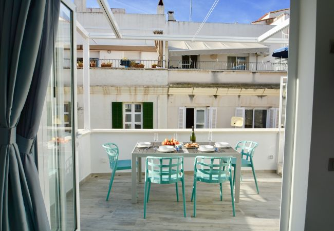 Apartment in Sitges - STUDIO AZUL with 2 Great Terraces